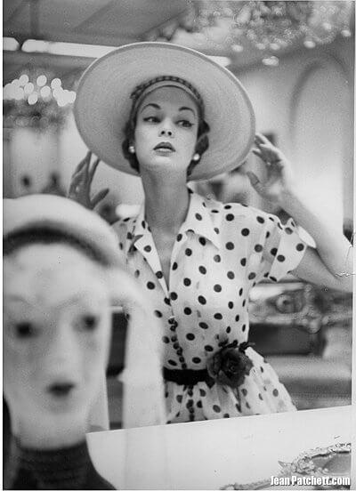 An American Goddess of Paris Couture: Jean Patchett