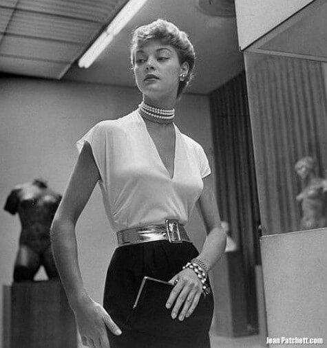 An American Goddess Of Paris Couture Jean Patchett