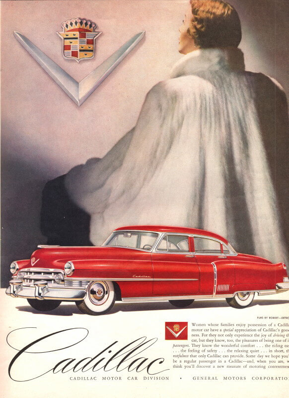 Cadillac Haute Couture Vogue Models Amp Jewelry An